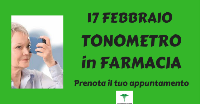 17 febbraio: TONOMETRO