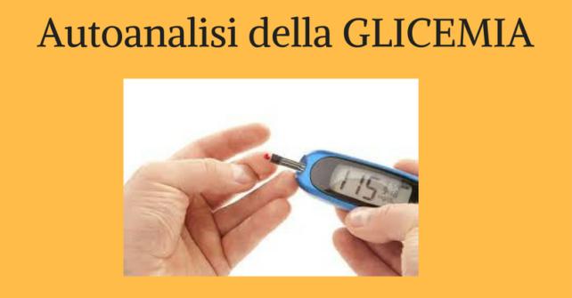 Autoanalisi della Glicemia