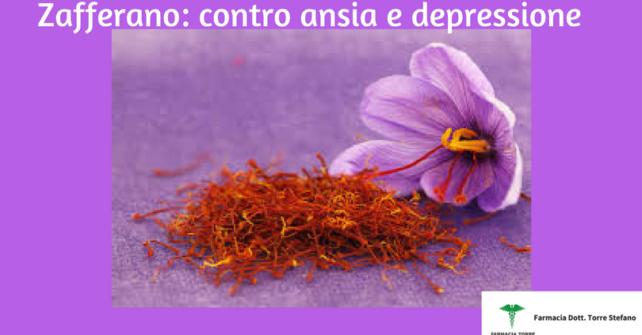 L'uso dello zafferano nella depressione e nell'ansia