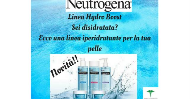 Novità Neutrogena: Linea Hydra Boost