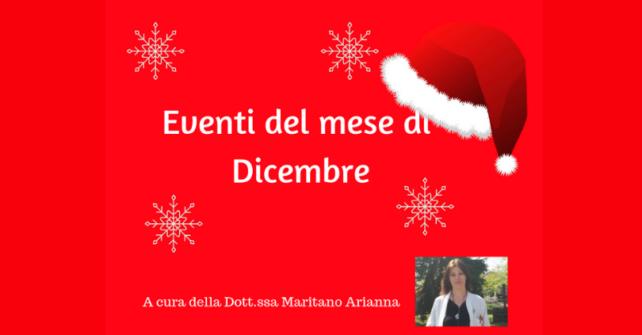 Eventi nel mese di dicembre: guarda il video
