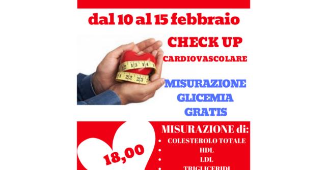 Settimana prevenzione patologie cardiovascolari.