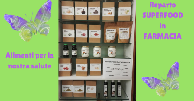Superfood in Farmacia