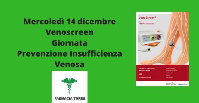 14 dicembre: Venoscreen