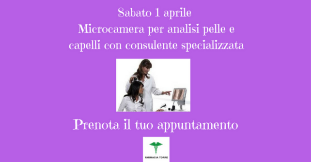 Microcamera: analisi capelli e pelle con consulente specializzata