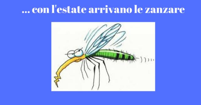Le zanzare: un tema pungente