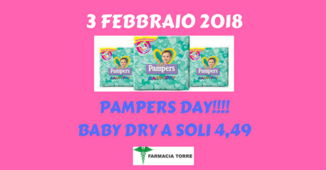 GUARDA IL VIDEO E SCOPRI L'OFFERTA primo pampers day del 2018