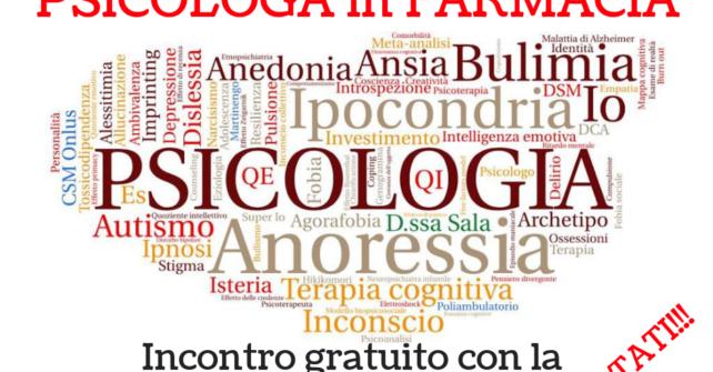 Giovedì 18 ottobre: open day psicologo