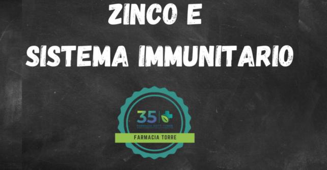 ZINCO E DIFESE IMMUNITARIE